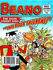 Beano Comic Library 349 - The Bash Street Kids in The Plot Thickens!.cbr