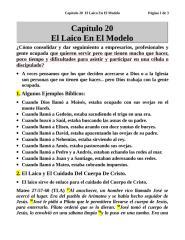 Capítulo 20  El Laico En El Modelo.doc