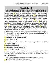 Capítulo 18  El Propósito Y Enfoque De Una Célula.doc
